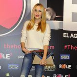 Berta Collado en el estreno de 'The Hole 2'