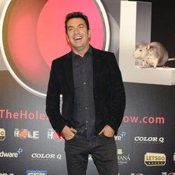 Arturo Valls en el estreno de 'The Hole 2'