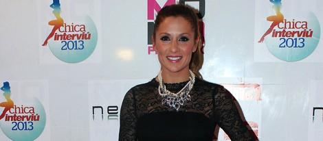 Nagore Robles en la elección de la Chica Interviú 2013