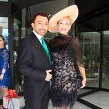 José Manuel Parada en la boda de Víctor Janeiro y Beatriz Trapote