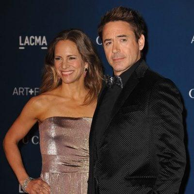 Robert Downey Jr. y Susan Downey en la gala LACMA Art + Film