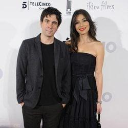 Eduardo Chapero Jackson y Marta Fernández en el estreno de 'Séptimo'