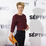 Tania Llasera en el estreno de 'Séptimo'