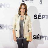Elena Furiase en el estreno de 'Séptimo'