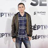 David Castillo en el estreno de 'Séptimo'