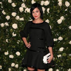 Leigh Lezark en una fiesta homenaje a Tilda Swinton en el MoMA