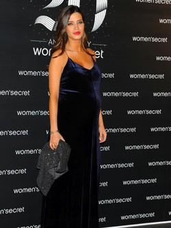 Sara Carbonero en la fiesta del 20 aniversario de Women'Secret