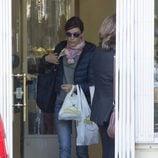 Raquel Sánchez Silva comprando en una pastelería