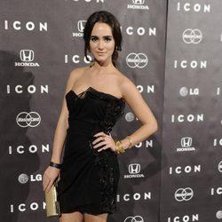 Alicia Sanz en la presentación del magazine Icon