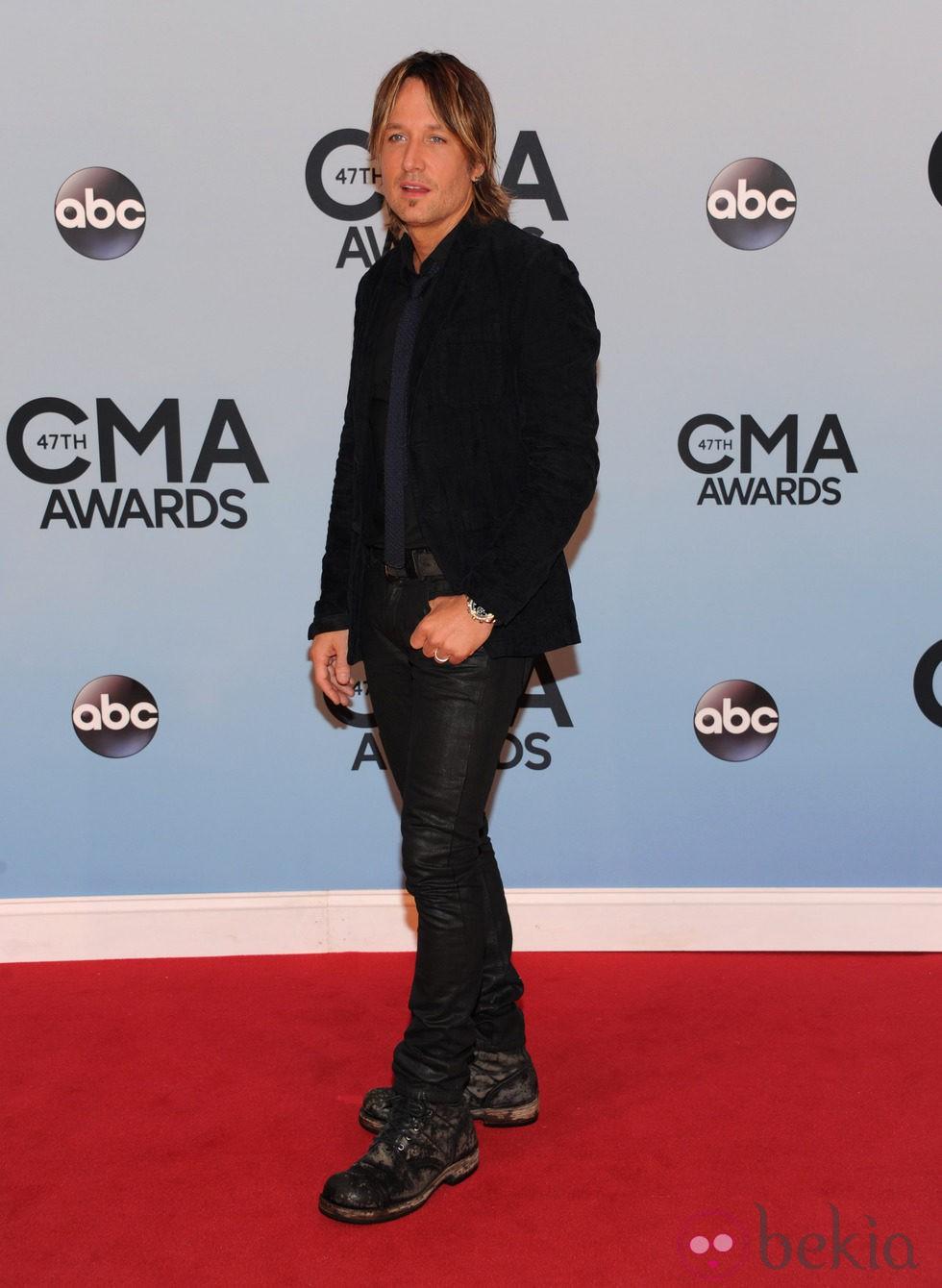 Keith Urban en los Premios CMA 2013