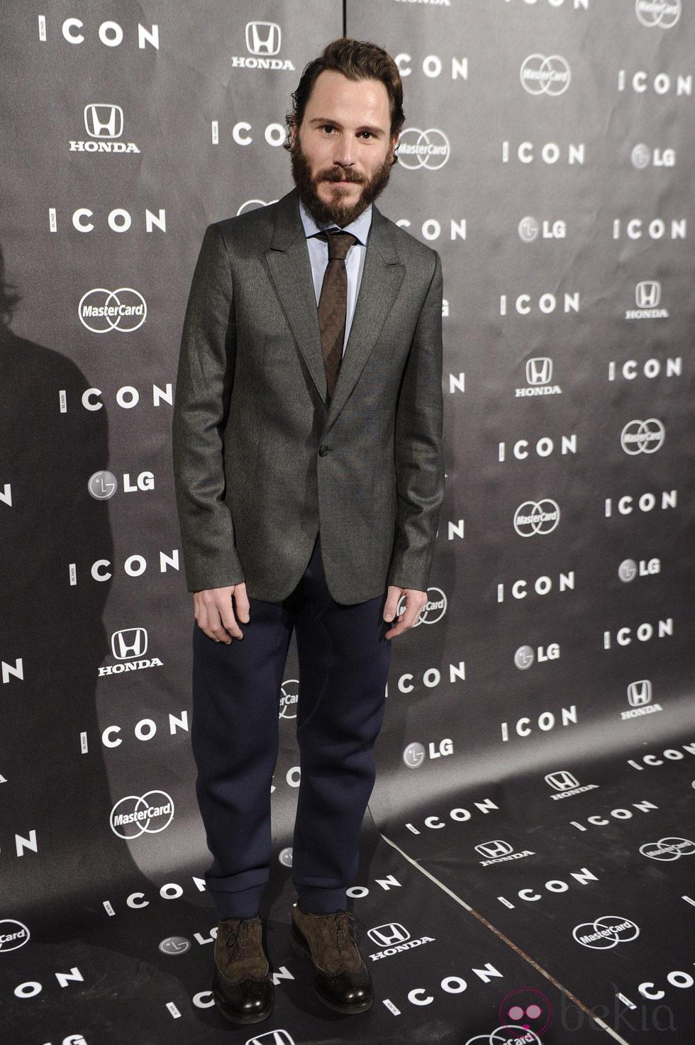 Rubén Ochandiano en la presentación de la revista Icon