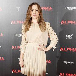 Irene Montalà en el estreno de 'Alpha'