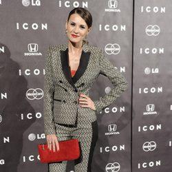 Elena Ballesteros en la presentación de la revista Icon