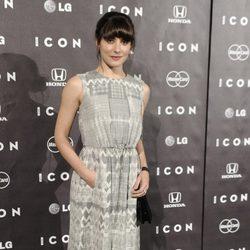 Bárbara Lennie en la presentación de la revista Icon