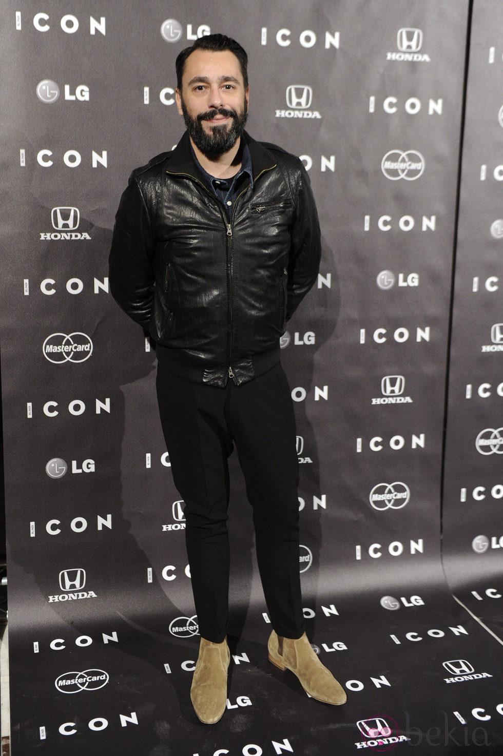 Juanjo Oliva en la presentación de la revista Icon
