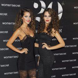 Malena Costa y Clara Alonso en la fiesta del 20 aniversario de Women'secret
