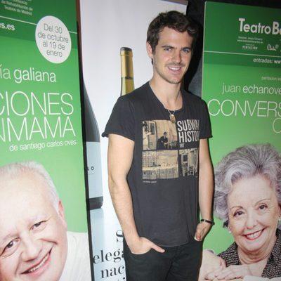 Gonzalo Ramos en el estreno de 'Conversaciones con mamá'