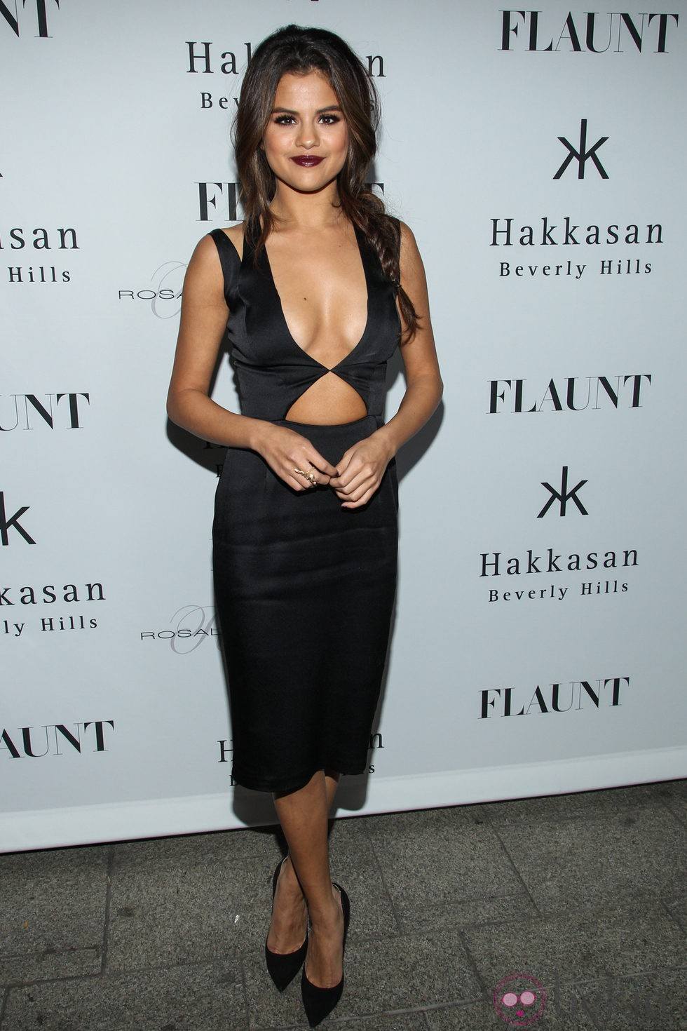 Selena Gomez en la fiesta organizada por la revista Flaunt