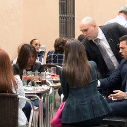 Alberto Isla, Chabelita, Kiko Rivera y Jessica Bueno en la Semana Santa de Sevilla