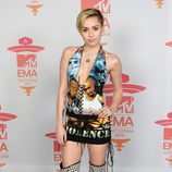 Miley Cyrus en los MTV Europe Music Awards 2013