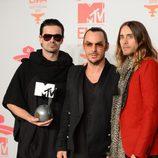 Thirty Seconds to Mars premiados en los MTV EMA 2013