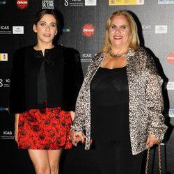 María León y Carmina Barrios en la inauguración del Festival de Cine Europeo de Sevilla 2013