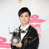 Li Yuchun premiada en los MTV EMA 2013