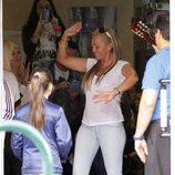 Belén Esteban bailando el día de su 40 cumpleaños