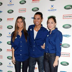Ana Boyer, Julio José Iglesias y Tamara Falcó, participantes de la IV edición de Land Rover Discovery Challenge