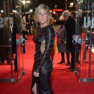 Ellie Goulding en el estreno mundial de 'Los Juegos del Hambre: En llamas' en Londres