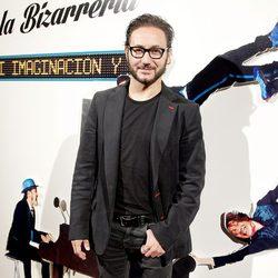 Carlos Santos en la presentación de 'Mi imaginación y yo'