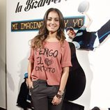Hiba Abouk en la presentación de 'Mi imaginación y yo'
