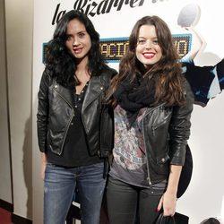 Adriana Torrebejano y Berta Hernández en la presentación de 'Mi imaginación y yo'