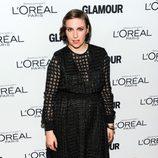 Lena Dunham en los premios Glamour Mujer del Año 2013 en Nueva York