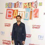 Julián Villagrán en la presentación de '¿Quién mató a Bambi?' en Madrid