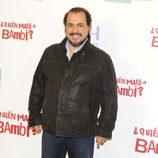 Joaquín Núñez en la presentación de '¿Quién mató a Bambi?' en Madrid
