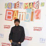 Santi Amodeo en la presentación de '¿Quién mató a Bambi?' en Madrid
