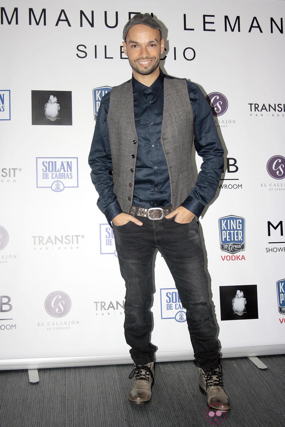 Paco Arrojo en la presentación del single de Emmanuel Leman 'Silencio'