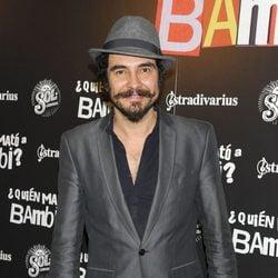 José Manuel Seda en el estreno de '¿Quién mató a Bambi?' en Madrid