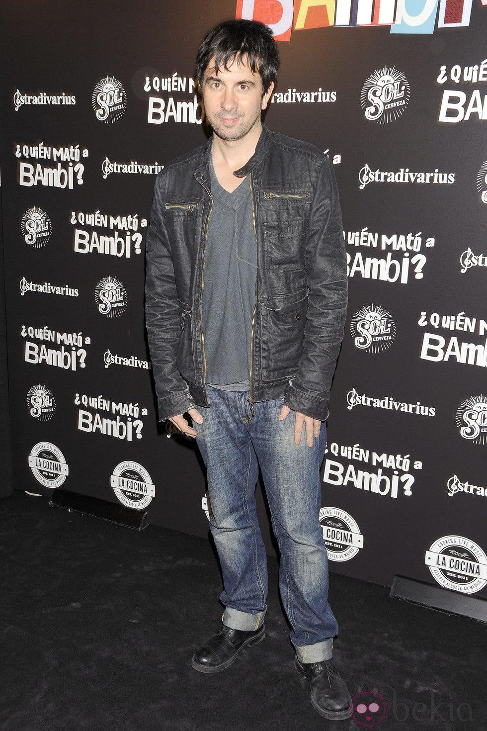 Eduardo Chapero-Jackson en el estreno de '¿Quién mató a Bambi?' en Madrid