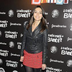 Marta Fernández en el estreno de '¿Quién mató a Bambi?' en Madrid