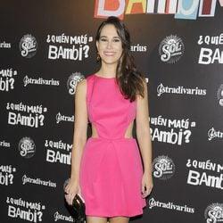 Celia Freijeiro en el estreno de '¿Quién mató a Bambi?' en Madrid