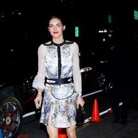 Hilary Rhoda acude a la fiesta posterior al desfile de Victoria's Secret 2013