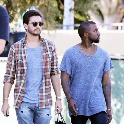 Kanye West y Scott Disick juntos de compras