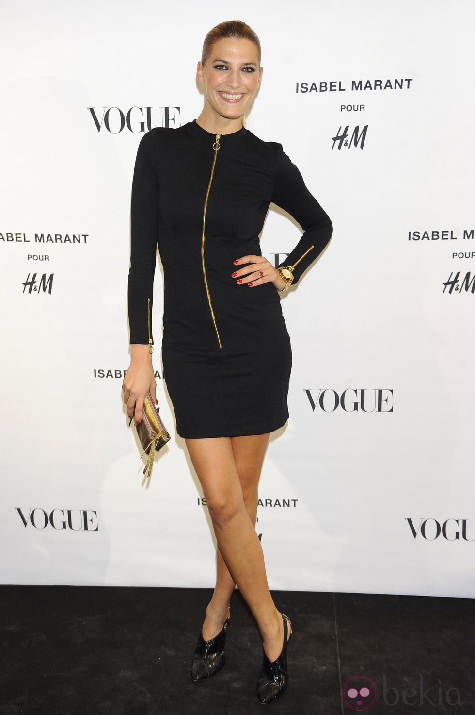 Laura Sánchez en la presentación de la colección de Isabel Marant para H&M