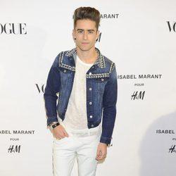 Pelayo Díaz en la presentación de la nueva colección de Isabel Marant para H&M