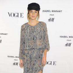 Aída Artiles en la presentación de la nueva colección de Isabel Marant para H&M