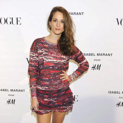 Silvia Alonso en la presentación de la colección de Isabel Marant para H&M