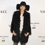 Dafne Fernández en la presentación de la colección de Isabel Marant para H&M