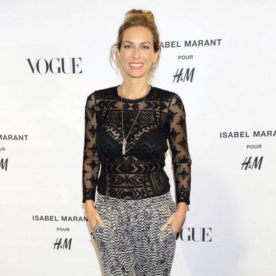 Kira Miró en la presentación de la colección de Isabel Marant para H&M